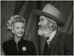 Picture of Dale Evans and Gabby Hayes