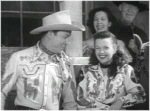 Roy Rogers and Dale Evans in The Roy Rogers Show