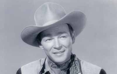 Roy Rogers (formerly named Leonard Slye) in a 1948 photo