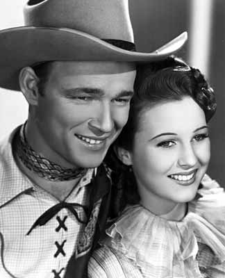 Photo of Roy Rogers and Mary Hart