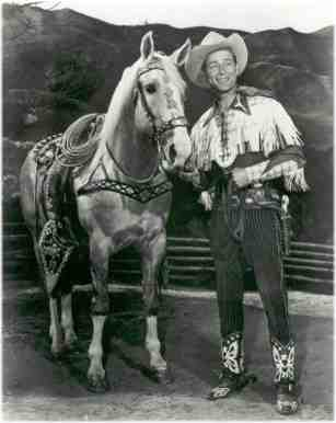 Roy Rogers and his horse Trigger
