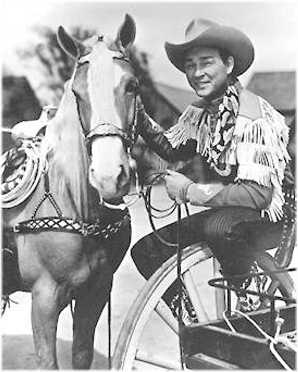 Picture of Trigger and Roy Rogers