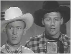 Tim Spencer and Bob Nolan, founding members of the Sons Of The Pioneers